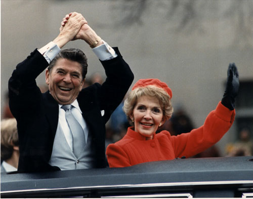 Reagan inaug parade